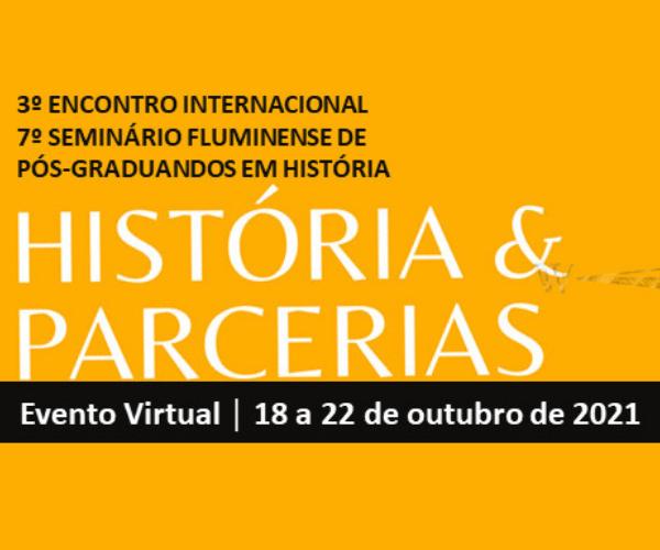 3º Encontro Internacional História & Parcerias