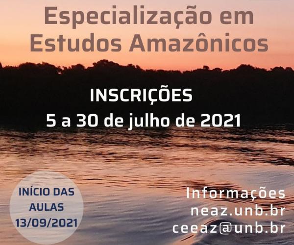 Curso de Especialização em Estudos Amazônicos