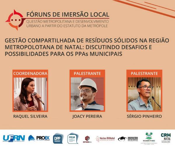 Gestão compartilhada de resíduos sólidos na Região Metropolitana de Natal: discutindo desafios e possibilidades para os PPAs municipais