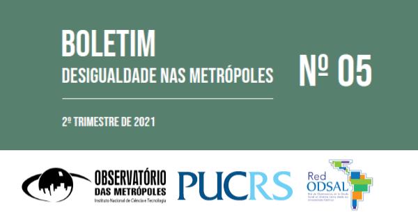 Desigualdade nas metrópoles: média de renda continua caindo nas metrópoles brasileiras