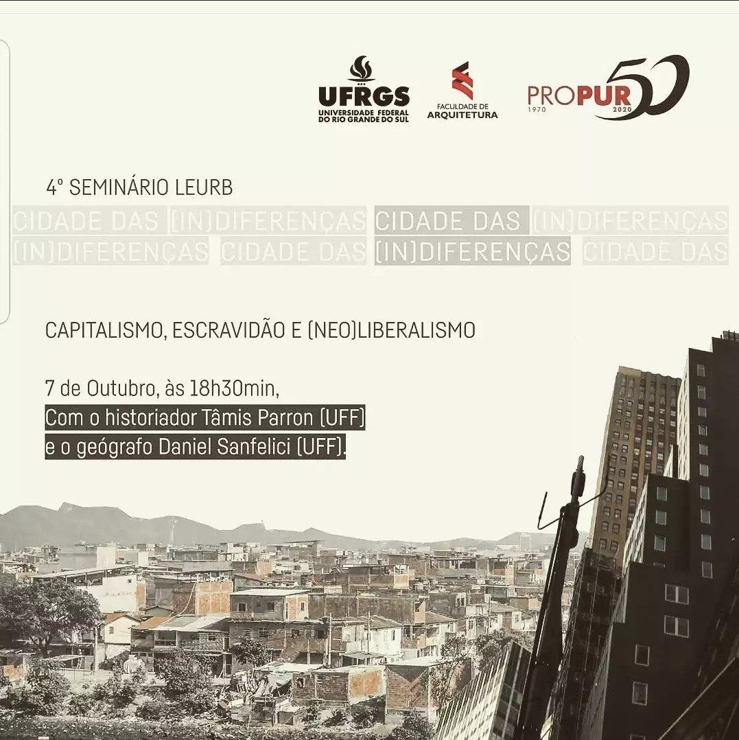 4º Seminário LEURB – Cidade das (In)Diferenças
